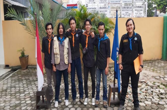 Mahasiswa Pecinta Alam UMITRA Adakan Bakti Sosial Kampus